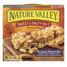 Nature Valley Granola Bars, Sweet and Salty Nut, Roasted Mixed Nut, 6 Bars - 1.2 oz, 1.2 OZ