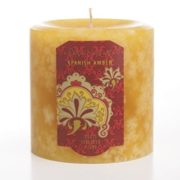 Pacifica Spanish Amber Candle