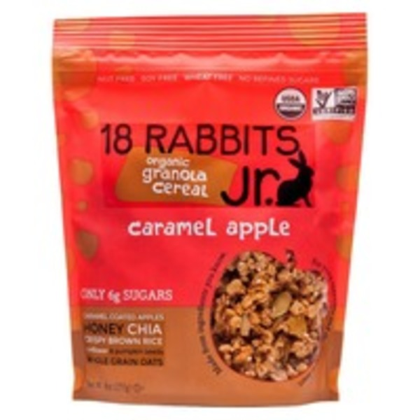 18 Rabbits Jr Organic Caramel Apple Granola