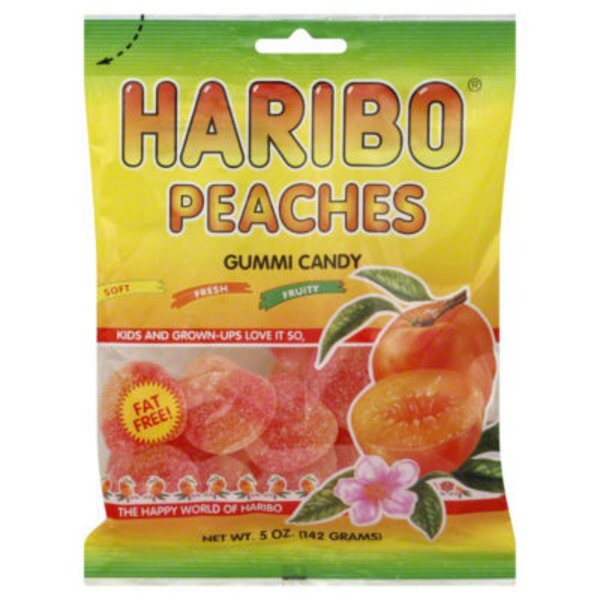 Haribo Gummi Candy, Peaches