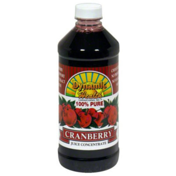 Dynamic Health Laboratories 100% Cranberry Juice Concentrate