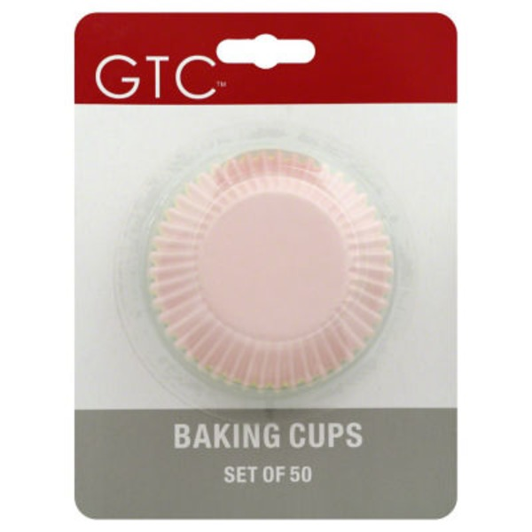 GTC Assorted Colors Baking Cups