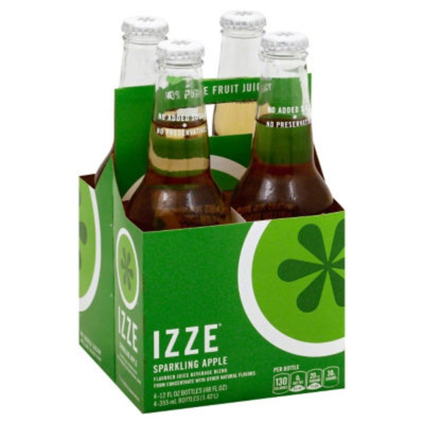 Izze Sparkling Apple Juice Beverage