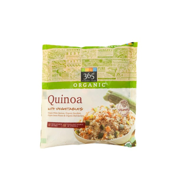 365 Organic Quinoa With Roasted Vegetables