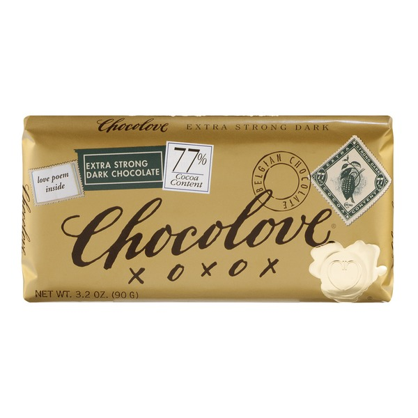 Chocolove Extra Strong Dark Chocolate