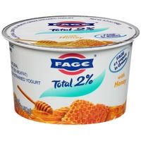 Fage Total 2% with Honey Lowfat Greek Strained Yogurt