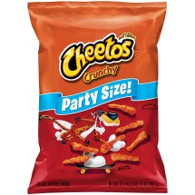 Cheetos Crunchy Cheese Flavored Snacks Party Size, Original, 17.5 Oz