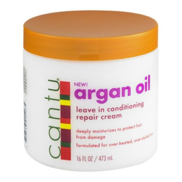 Cantu Shea Butter Argan Oil Leave-In Conditioning Repair Cream