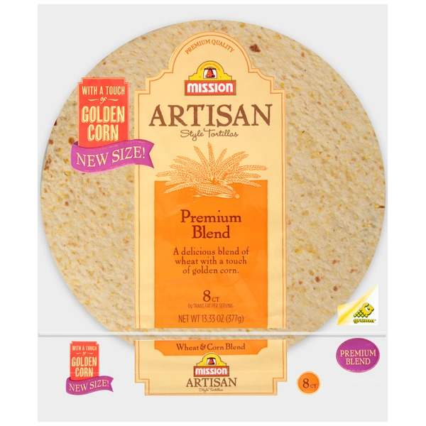 Mission Wheat & Corn Premium Blend Tortillas
