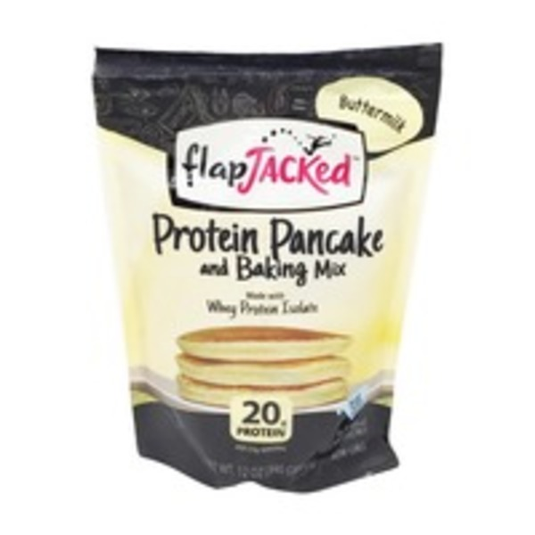Flap Jacked Buttermilk Protein Pancake and Baking Mix