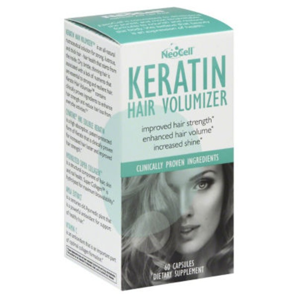 NeoCell Keratin Hair Volumizer - 60 CT