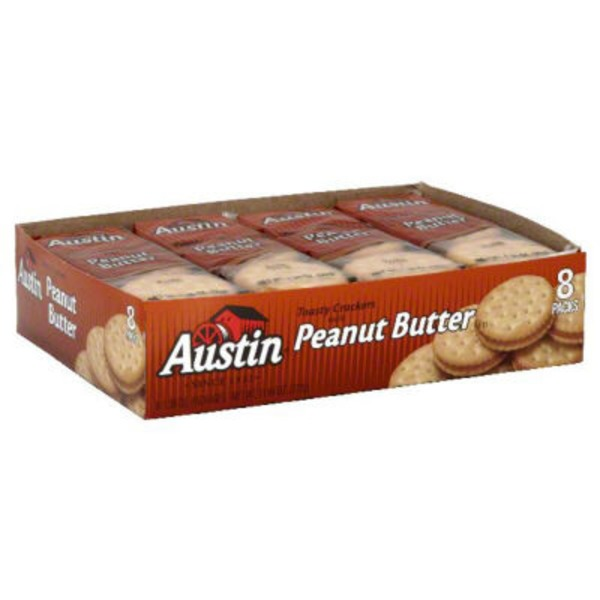 Austin Peanut Butter Cracker Sandwiches