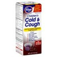 Kroger Childrens Grape Flavored Night Time Cold & Cough Liquid