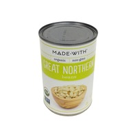 Made With. Organic Great Northern Beans