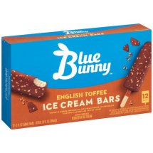 Blue Bunny Frozen English Toffee Bars,12 ct