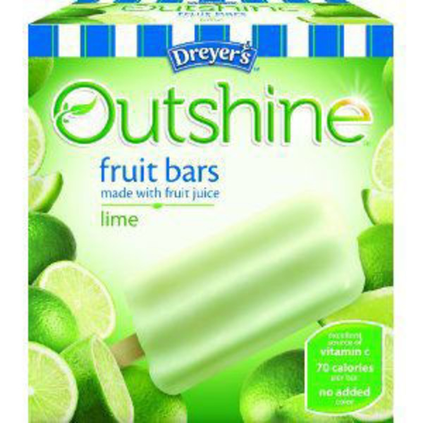 Edy's Outshine Lime Fruit Bars