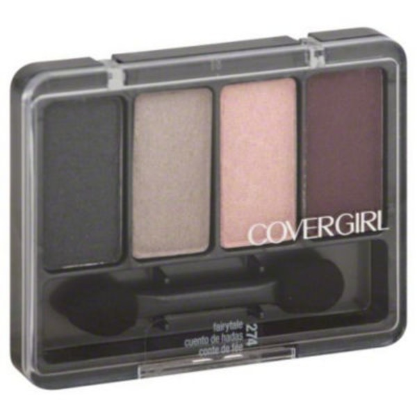 CoverGirl Eye Enhancer COVERGIRL Eye Enhancers 4-Kit Eye Shadow, Fairytale .19 oz (5.5 g) Female Cosmetics