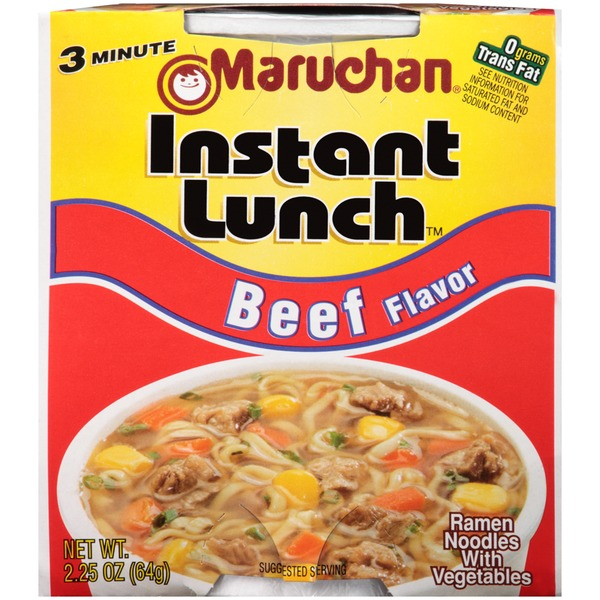 Maruchan Instant Lunch Beef Flavor Instant Lunch