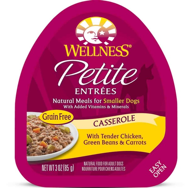 Wellness Petite Entrees Casserole Tender Chicken Green Beans & Carrots Dog Food