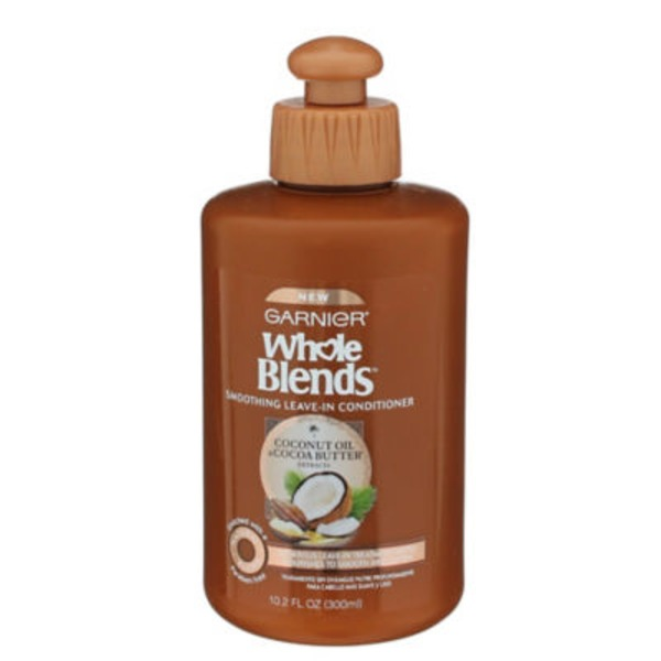 Whole Blends Frizzy, Dry, Unmanageable Hair Coconut Oil & Cocoa Butter Smoothing Leave-In Conditioner