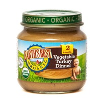 Earth's Best Organic Stage 2 Vegetable Turkey Dinner