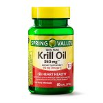 Spring Valley Krill Oil Softgels, 350 mg, 60 Ct