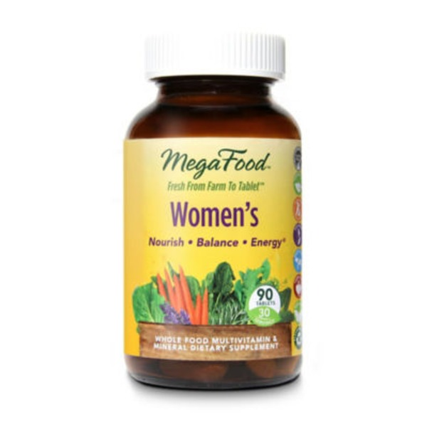 MegaFood Women's Whole Food Multi Vitamins