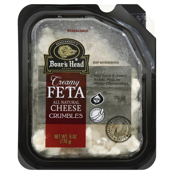 Boar's Head Feta Cheese Crumbles