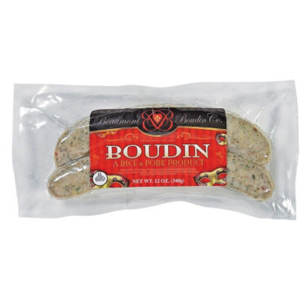 Beaumont Boudin Co. Boudin Sausage