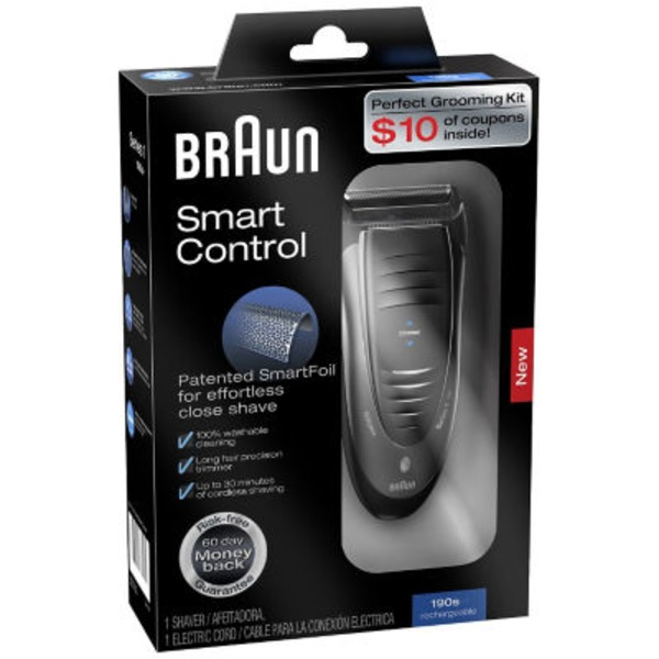 Braun 1Series Braun Braun Smart Control 190s Cordless Shaver 1 Count  Appliance