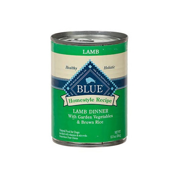 Blue Buffalo Homestyle Recipe Lamb Dinner Canned Dog Food