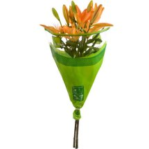 Lily Flower Bunch, 3 stems, colors will vary