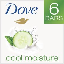 Dove go fresh Cucumber and Green Tea Beauty Bar 4 oz, 6 Bar