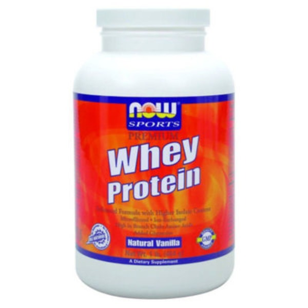 Now Sports Premium Natural Vanilla Whey Protein