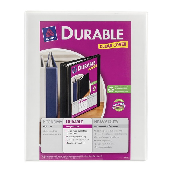 Avery Durable View Binder 120-Sheet