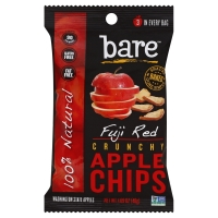Bare Foods Apple Chips Natural Crunchy Fuji Red