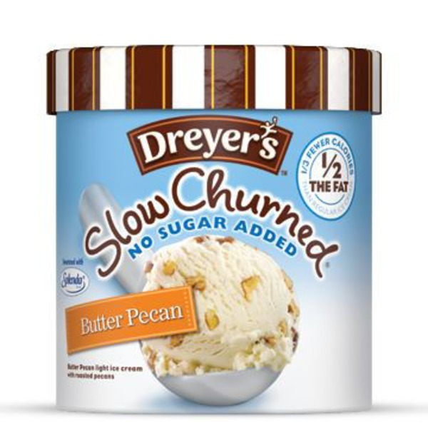 Edy's/Dreyer's Butter Pecan Slow Churned NSA Light Ice Cream