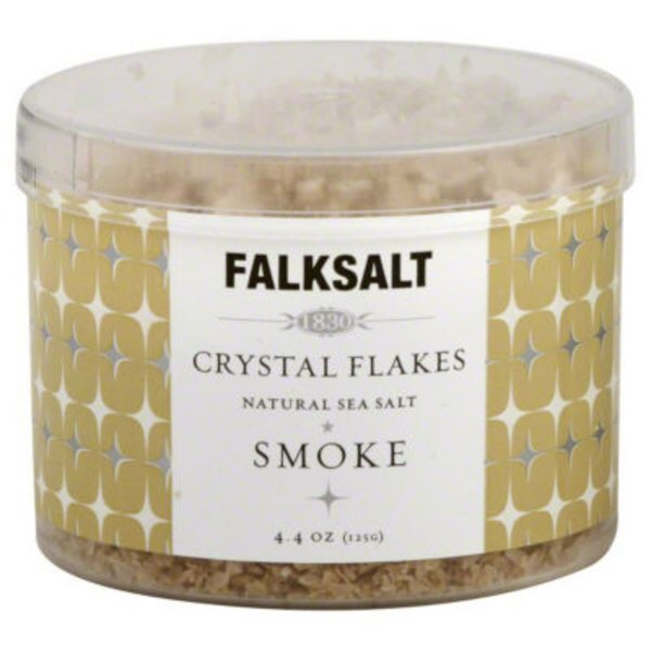 Falksalt Sea Salt, Crystal Flakes, Smoke
