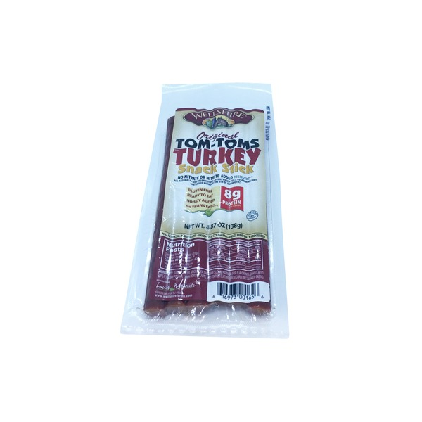 Wellshire Farms Tom Toms Turkey Snack Sticks
