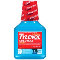 Tylenol® Adult Night Cool Burst Liquid Pain Reliever-Fever Reducer/Cough Suppressant/Antihistamine/Nasal Decongestant