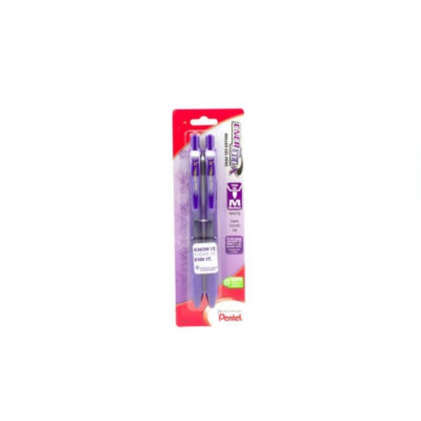 Pentel Energel X Medium Point Violet Retractable Liquid Gel Pens
