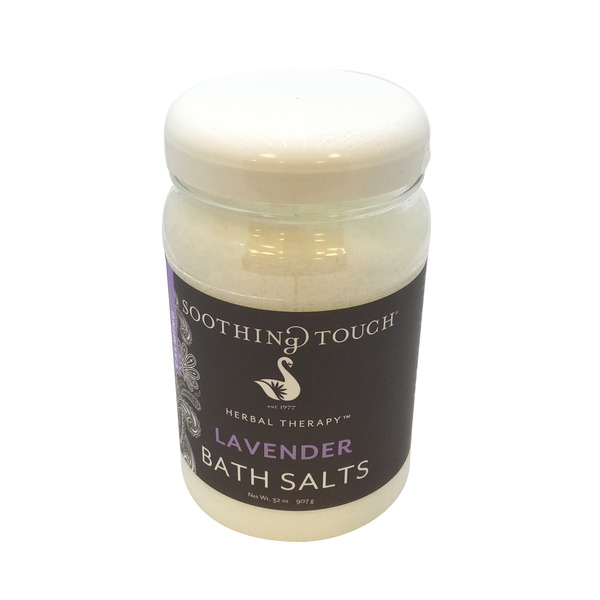 Soothing Touch Bath Salts, Calming, Lavender