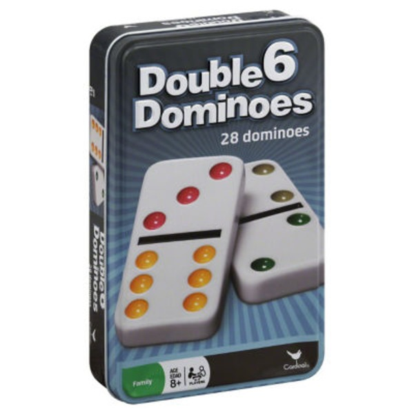 Cardinal Double 6 Dominoes