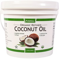 Tropical Plantation Organic Refined Coconut Oil Bucket
