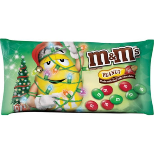 Mars Christmas Peanut Butter M&Ms