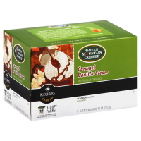 Green Mountain Coffee K-Cup Pods Light Roast Caramel Vanilla Cream - 12