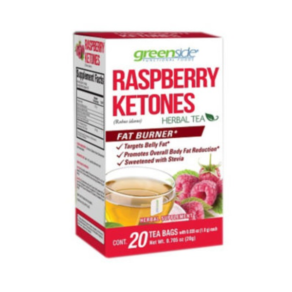 Greenside Raspberry Ketones Herbal Tea Bags