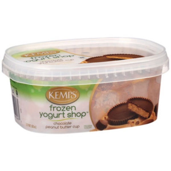 Kemps Chocolate Peanut Butter Cup Frozen Yogurt