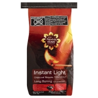 Signature Home Charcoal Briquets Instant Light