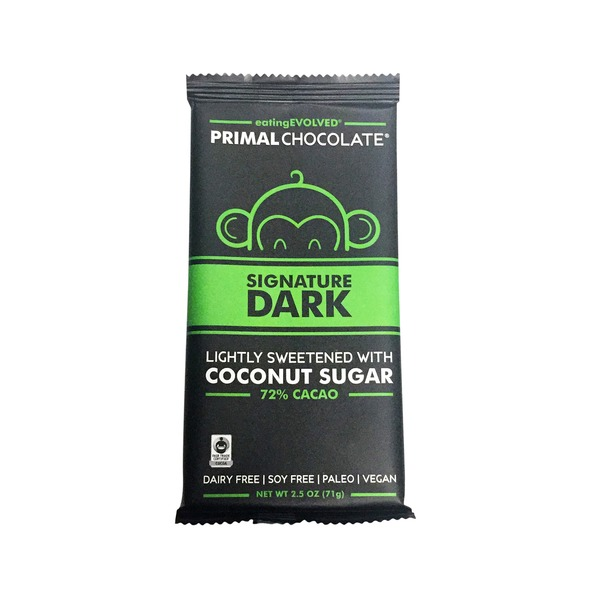 Eating Evolved Primal Signature Dark Chocolate Bar
